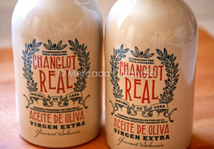 Botellas aceite de oliva Changlot Real